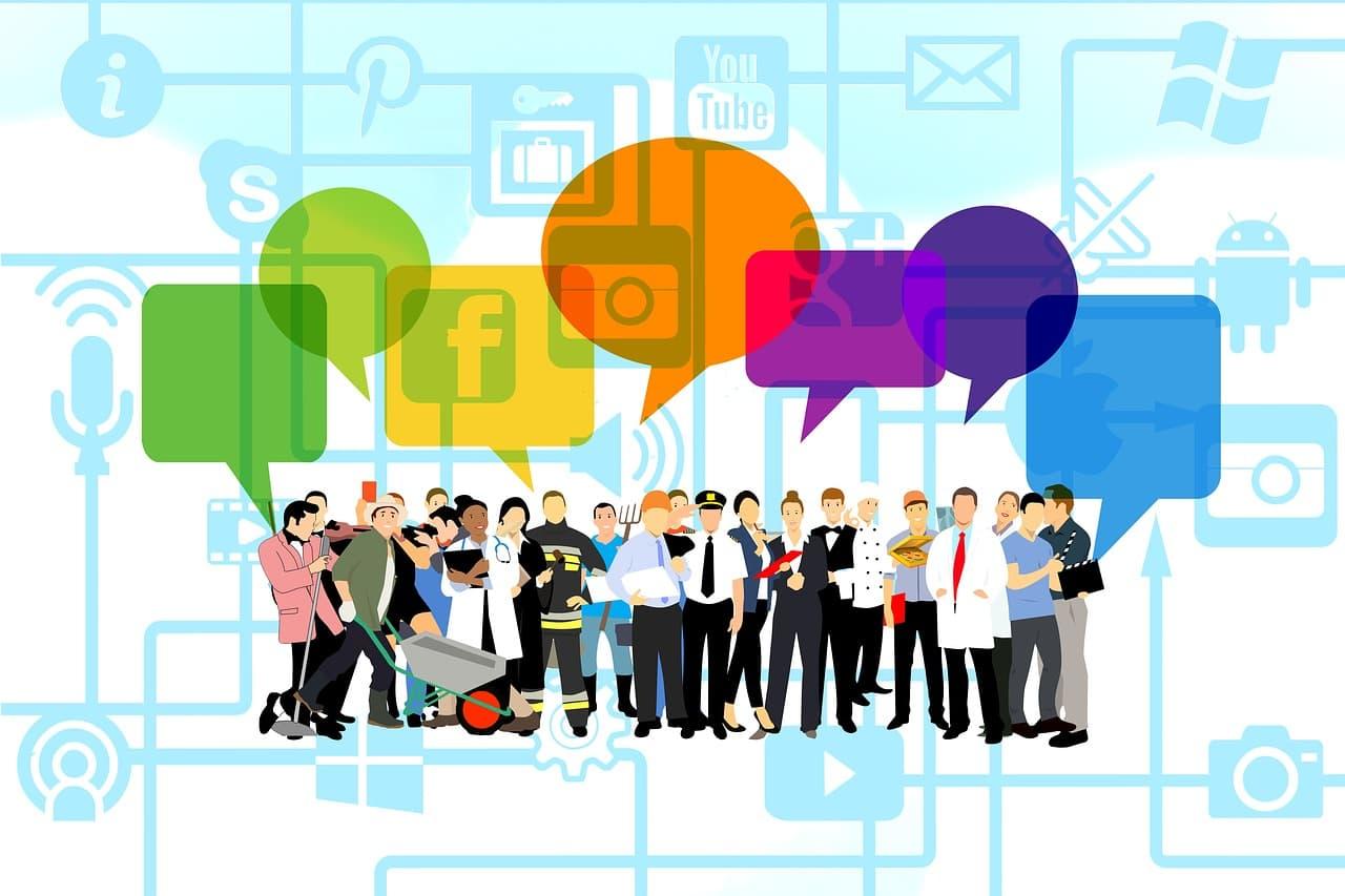 Soziale Medien Gruppen als Treffpunkte von Fachleuten nutzen, um zukünftige Mitarbeiter kennenzulernen
