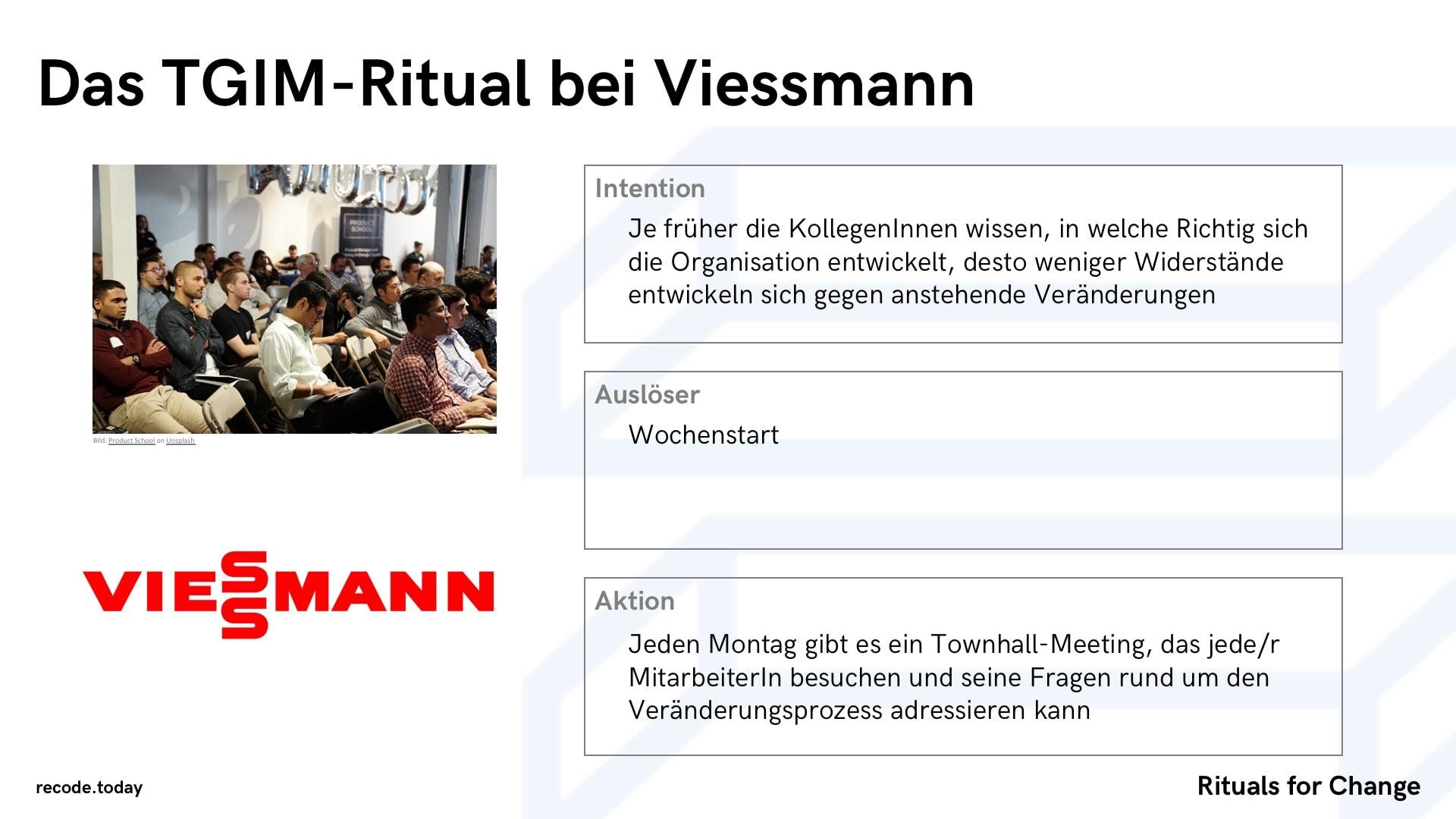 Rituals For Change Veraenderung & Wandel TGIM Viessmann