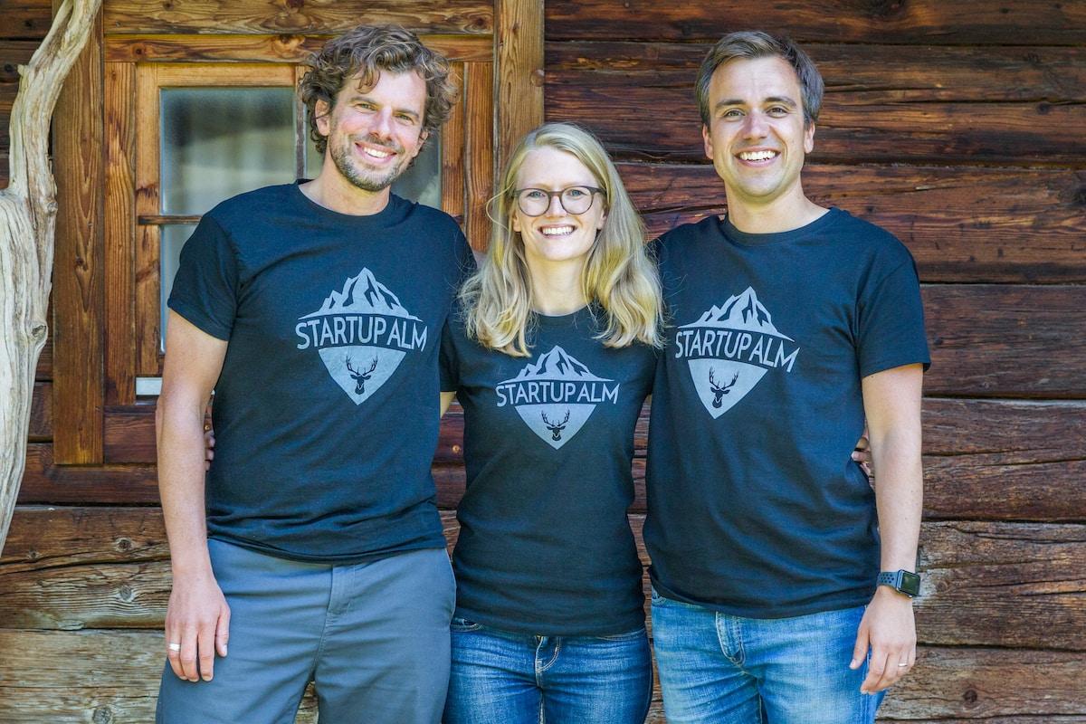 Startup Alm Jonas Schneider Talente Team Offsites
