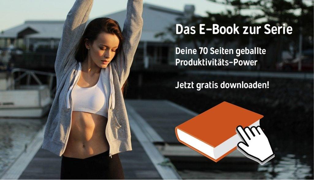 Persönliche Produktivität und Ziele 2020 zum gratis E-Book Download