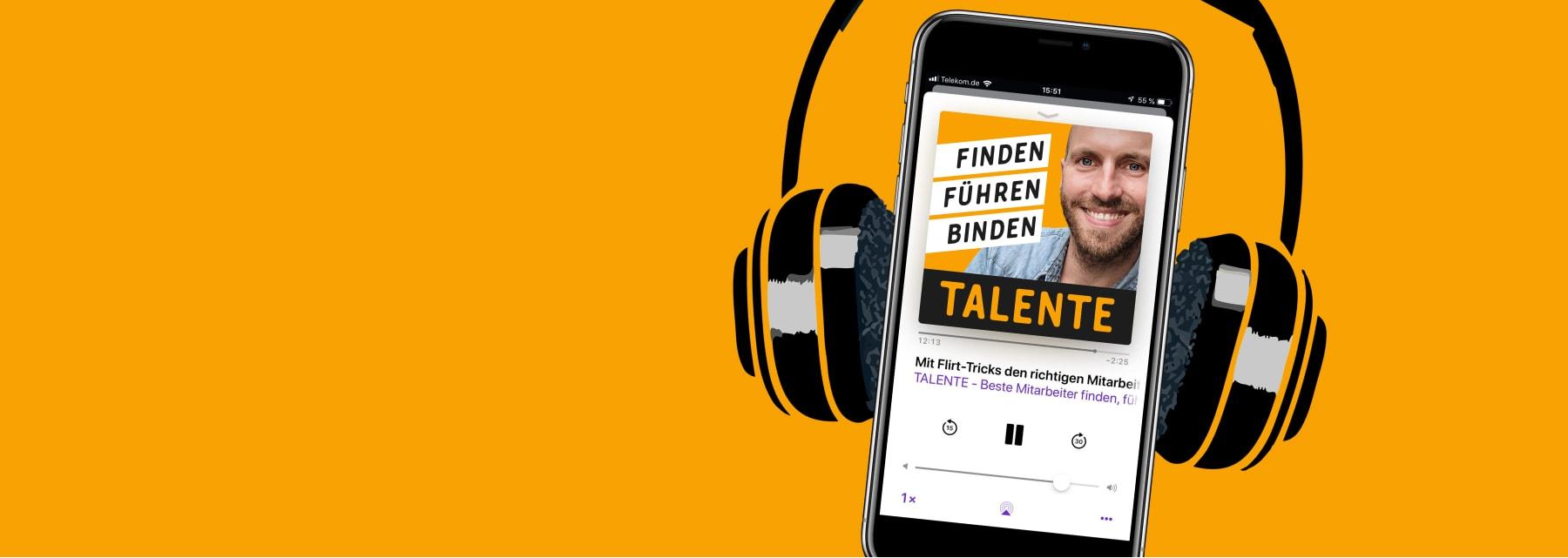 Talente Podcast für Unternehmer, Gründer, Recruiting, Fuehrung, Startups und Selbstständige mit Michael Asshauer