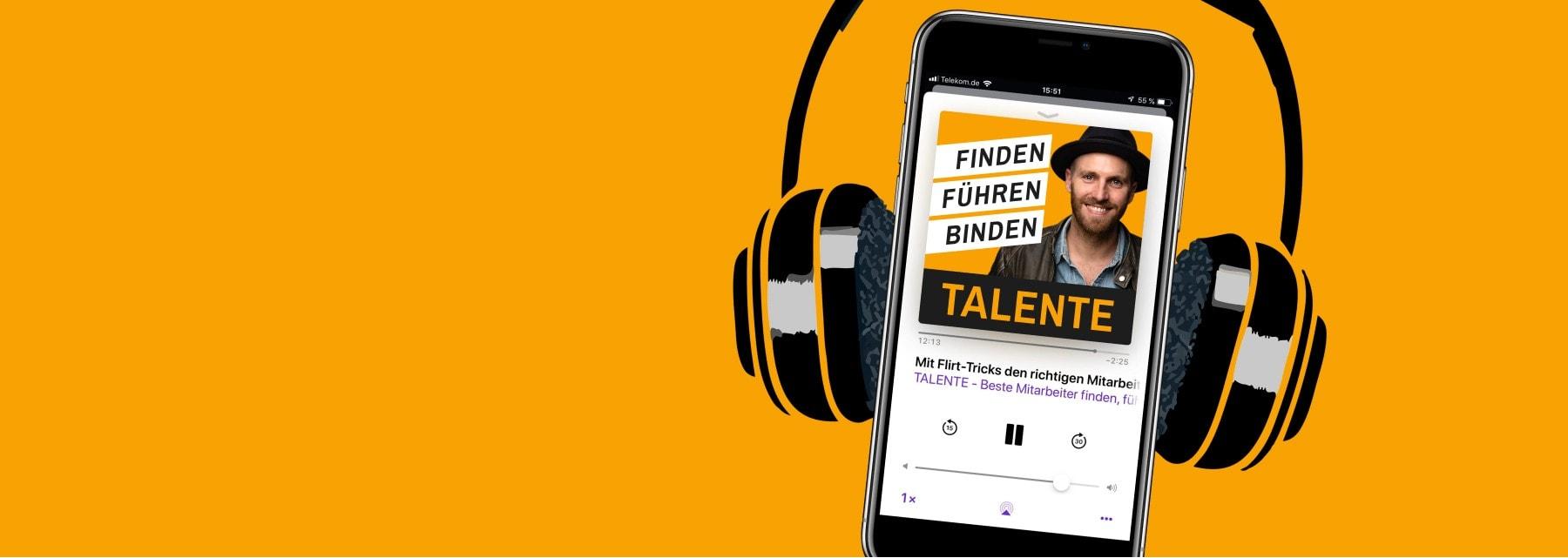Talente Podcast für Unternehmer, Gründer zu Recruiting, Führung, Management, Startups von Michael Asshauer