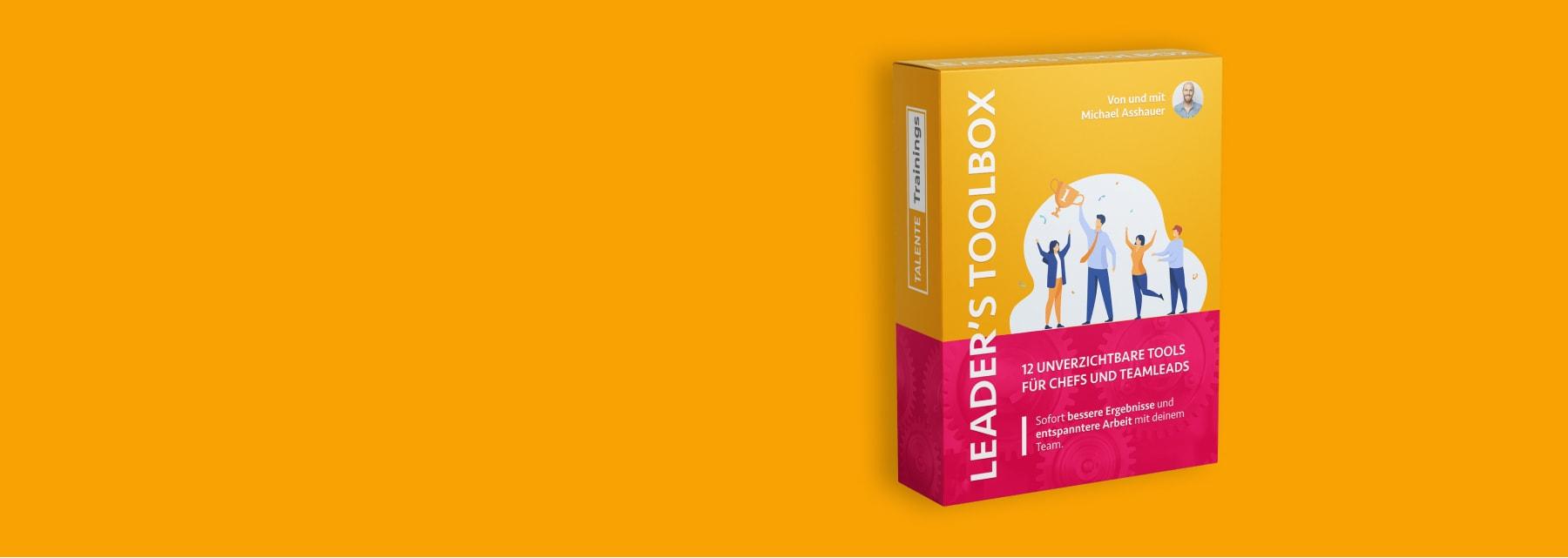 Leader's Toolbox Training von Michael Asshauer: 12 genial-simple Tools für beste Team-Ergebnisse und entspannte Arbeit als Chef, Manager oder Team-Lead